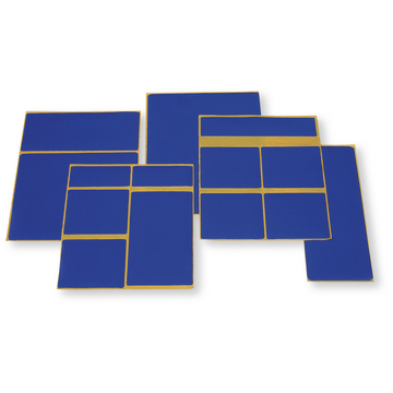 Easy Patch set, RAL 5002 Ultramarineblauw